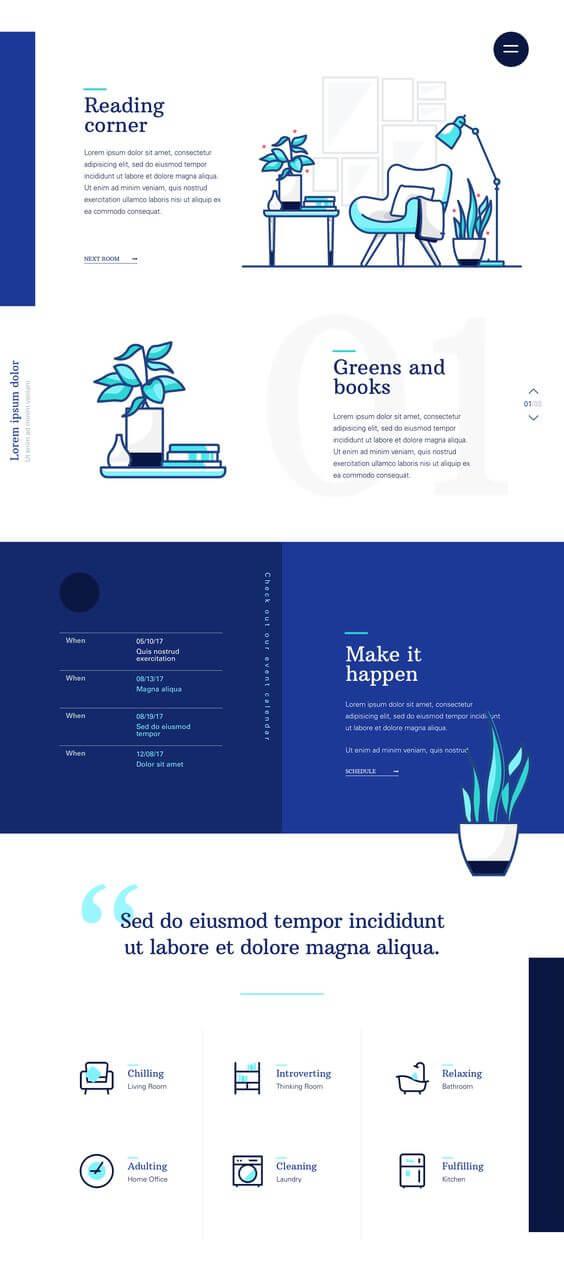 svetaines dizaino kurimas 2