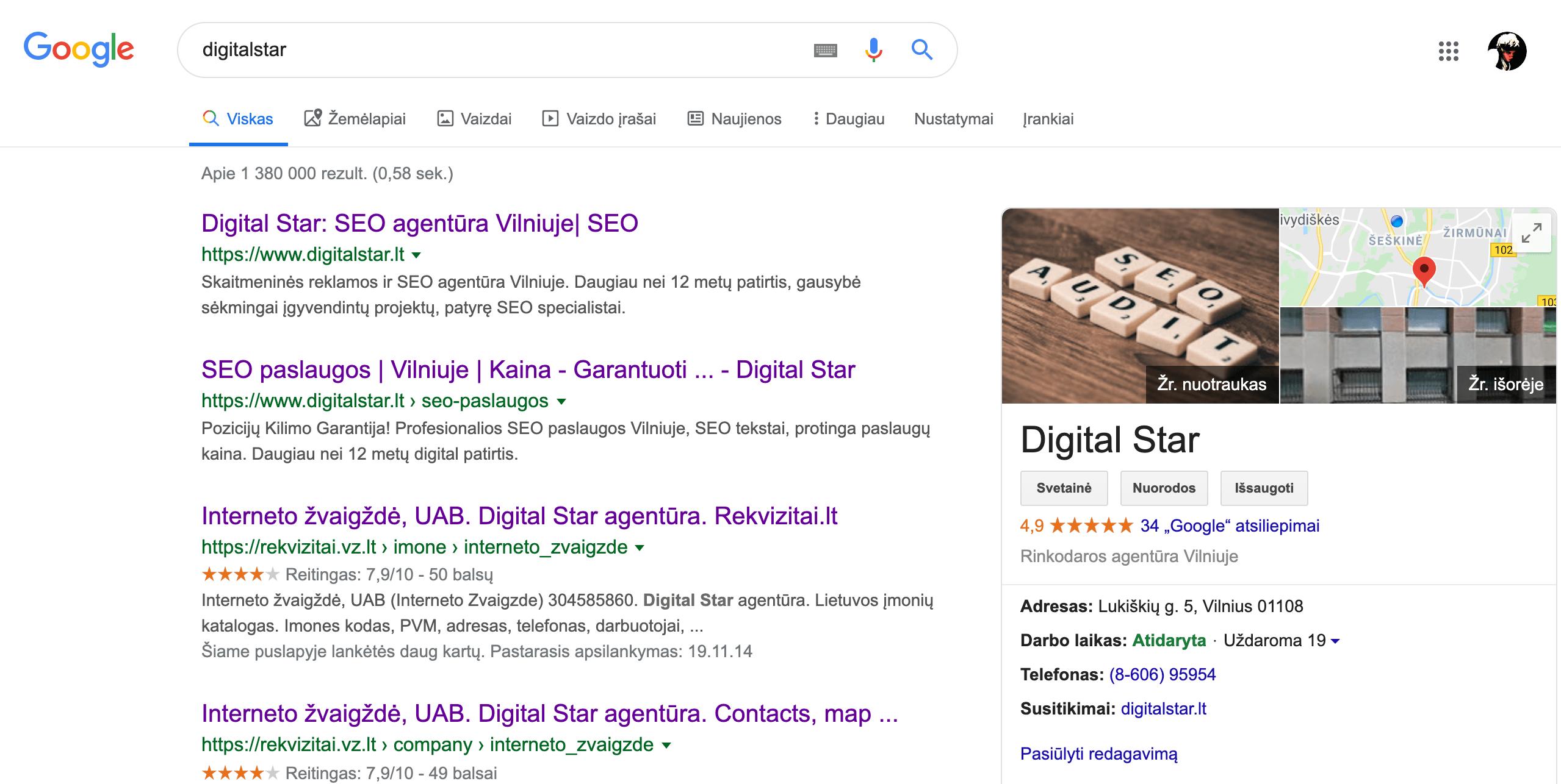 digitalstar google my bussines