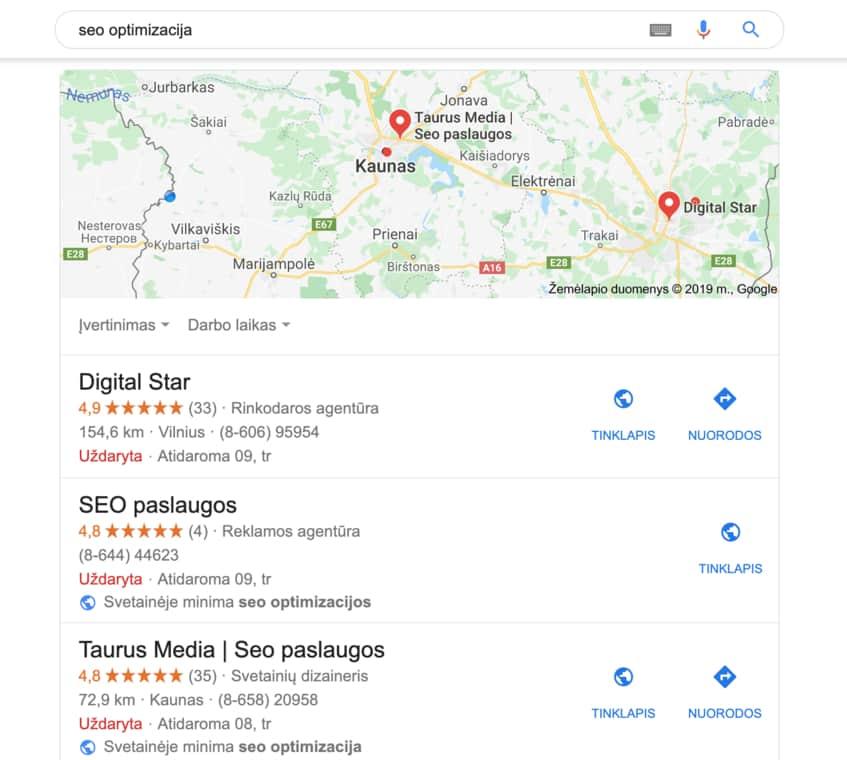 kodel verta susikurti google mybusiness