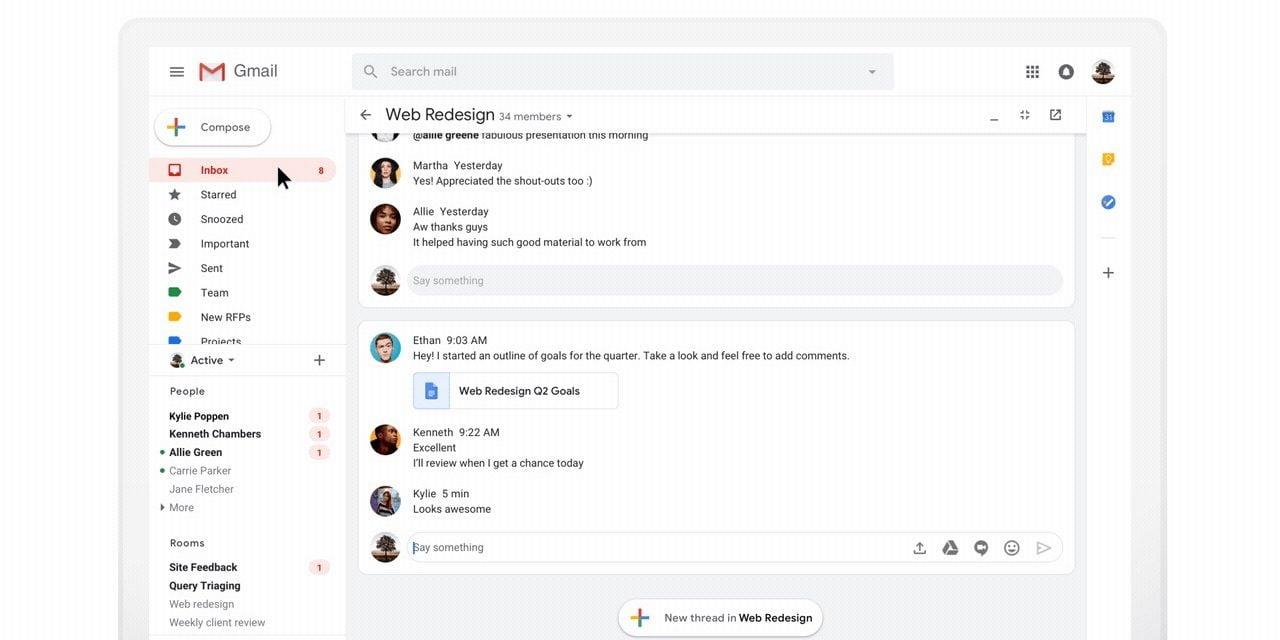 google gmail privalumai