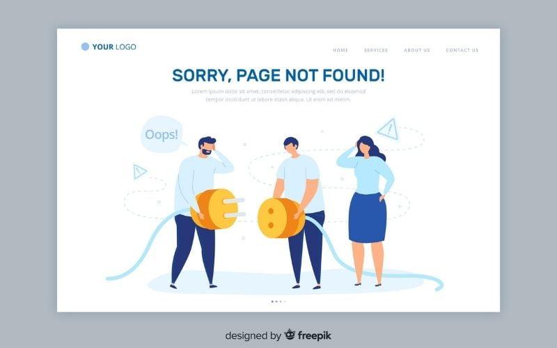 404 klaida (page not found)